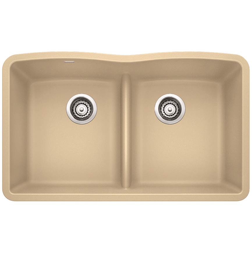 Blanco - 442073 - DIAMOND SILGRANIT Equal Double Bowl With Low-Divide Kitchen Sink in Biscotti  sc 1 st  Hubbard Pipe and Supply & Blanco 442073 at Hubbard Pipe and Supply Inc Undermount Kitchen ...