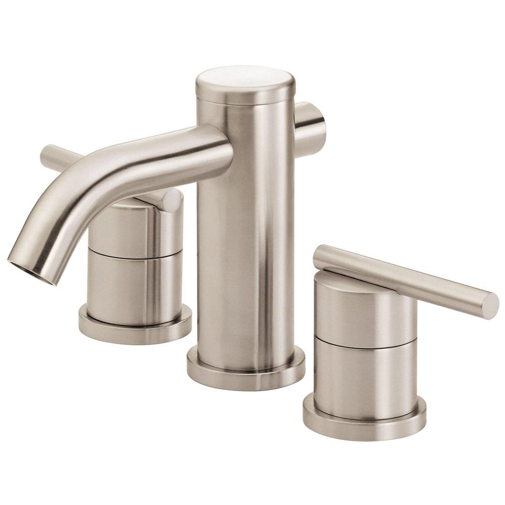 assembly drain in faucets with faucet p pn sink polished dryden metal delta single nickel bathroom handle hole dst
