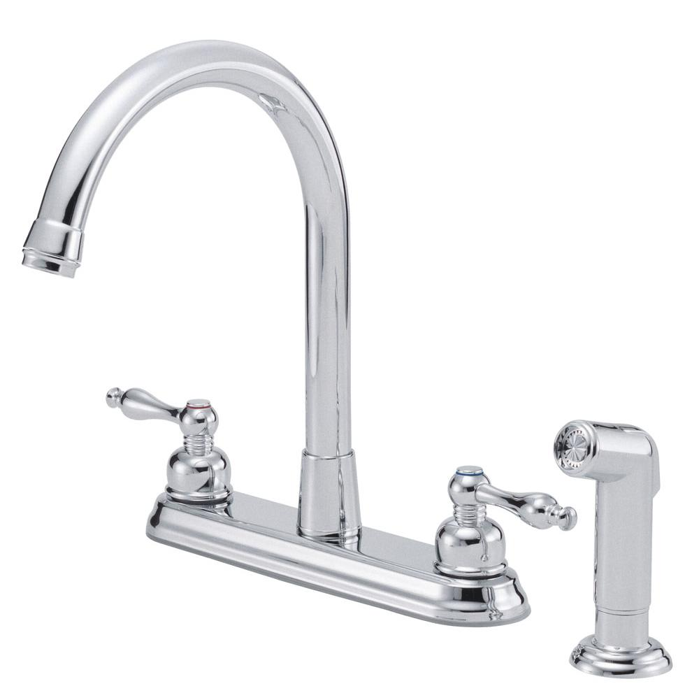 melrose side steel dp amazon handle stainless faucets danze faucet soap high with dispenser single com and spray rise kitchen