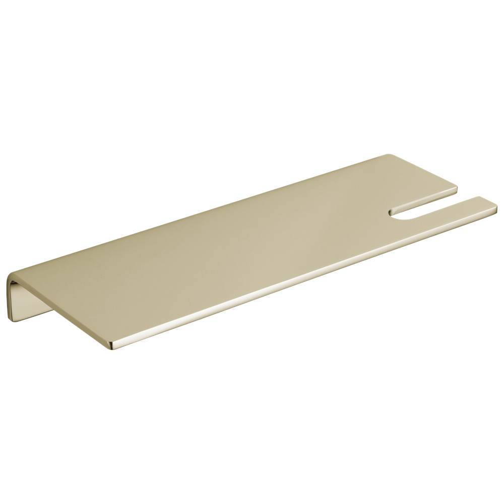 Satin Brass Jaclo 3501-GS-SB Contempo II Glass Shelf Satin Brass