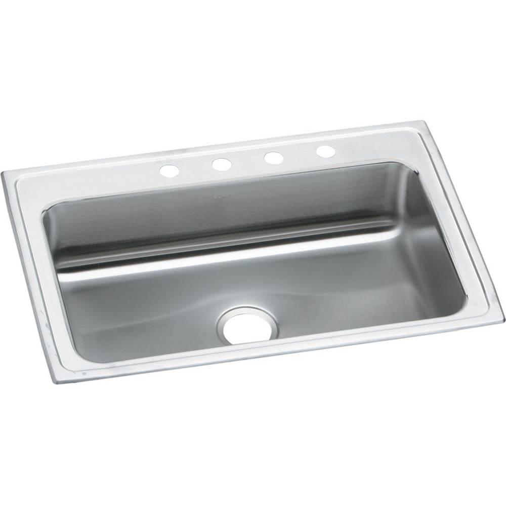 Elkay - PSRS33224 - Elkay Celebrity Stainless Steel 33'' x 22'' x 7-1/4'', Single Bowl Drop-in Sink