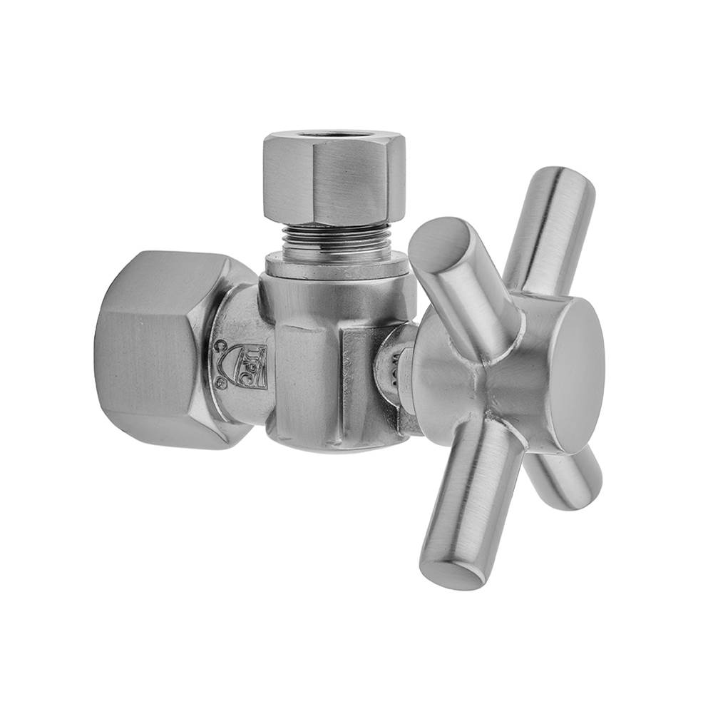 Jaclo 581X-72CT-PB 5//8 x 3//8 OD Compression Valve Kit with Cover Tube and Bell Escutcheon Polished Brass