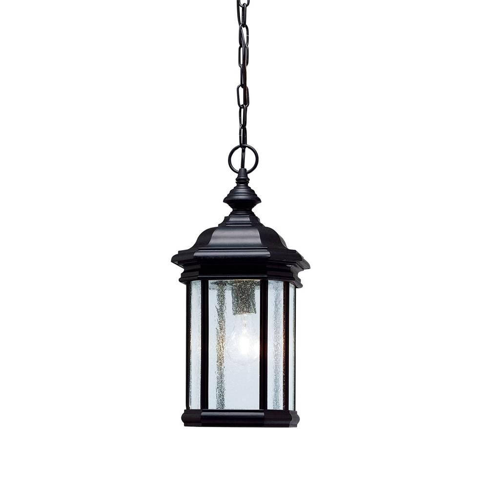 Kichler Lighting 9810bk Outdoor Pendant 1lt